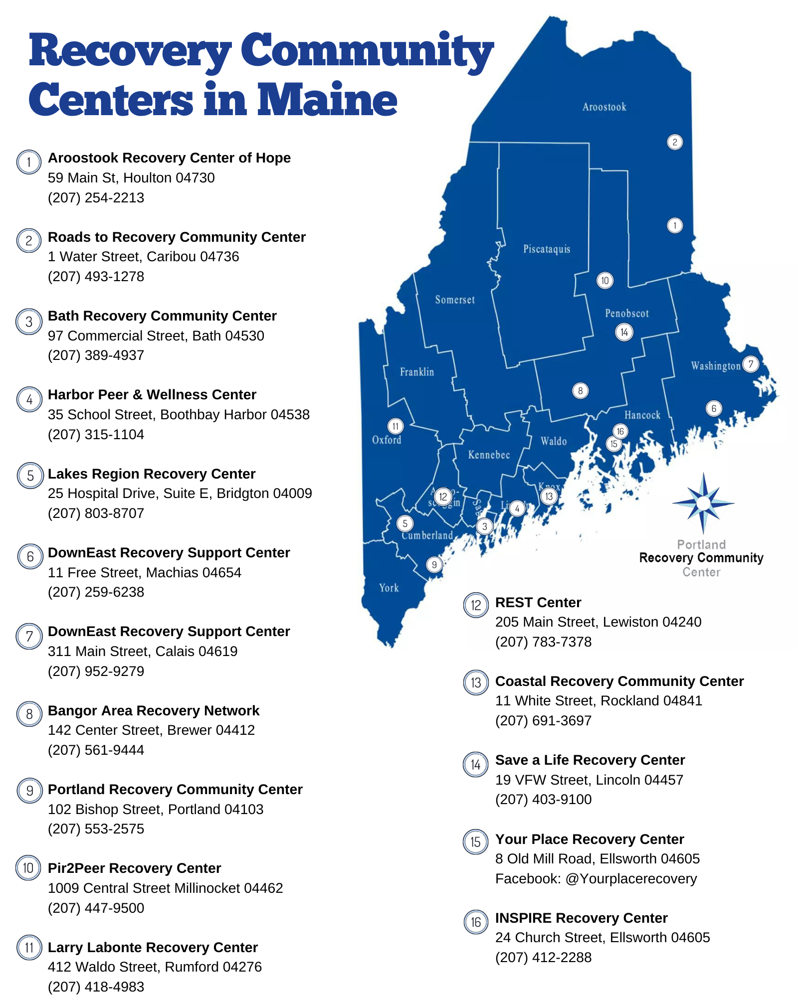 Maine Recovery Centers